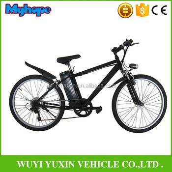 2018 newest full suspension 26'' wheels mountain electric bicycle