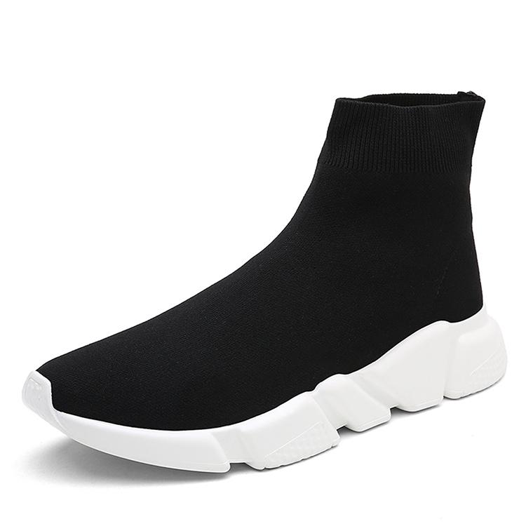 Мужские модные высокие повседневные носки обувь в 2018 году