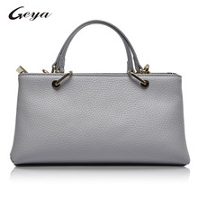 GUODI Global Leather Bag Brand Latest Fashion Design Ladies Genuine leather handbag Big Capacity Bag