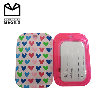 Manufacturing Price Hard Cheap Bulk Clear Plastic Pvc Luggage Tag ... 226405056d77