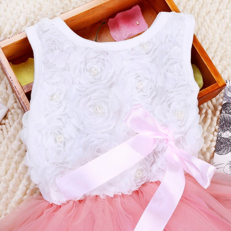 2015 New design little baby girl dance costumes dress fashion baby dress Baby party clothes newborn dress for girl