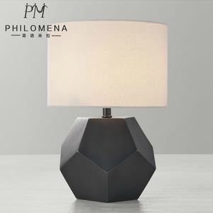 UL CUL Listed Black Bedside Hotel Table Lamp