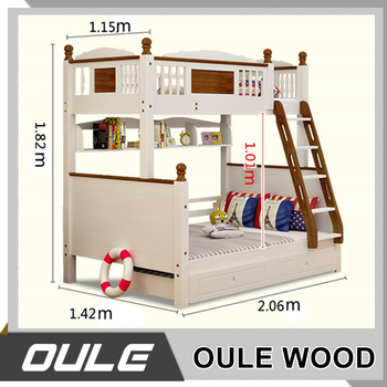 Custom Made Good Quality Kids Train Bunk Bed Wall Bunk Beds Buy