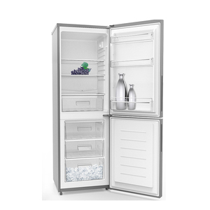 290L Home Kitchen Use Double Door Down Freezer Combi Manual Defrost National Refrigerator