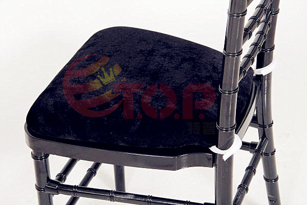 Sponge Velvet Hard Chair Cushion