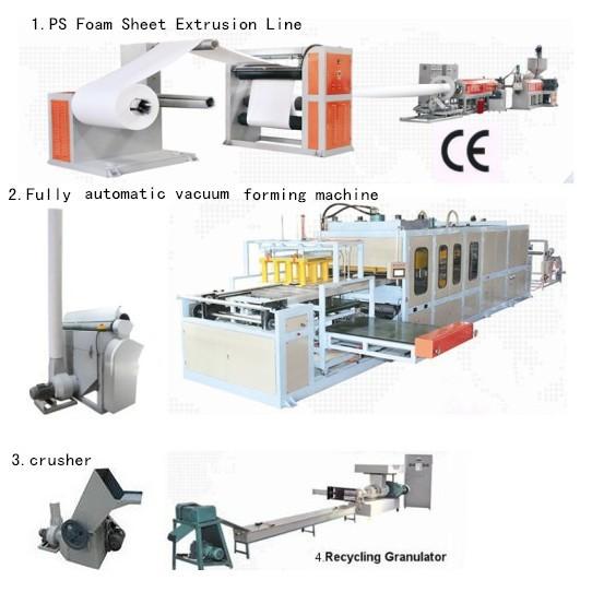 top level ps foam plastic making machine