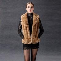 2017 Noble and Beautiful Fashion Favorite Faux Fur Women Winter Jacket Coat