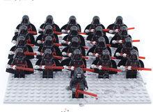 21 шт./лот, Звездные войны, коммандер клон, Штурмовик и Дарт Вейдер, мини игрушки, фигурки, совместимые с legoe 75021, строительные блоки, игрушки(Китай)
