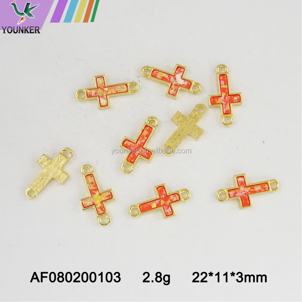 Wholesale new design alloy pendant& OEM charm cross pendant
