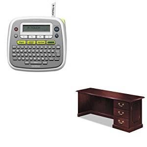 KITBRTPTD200DMI7350571 - Value Kit - Dmi Governor's Right Single Pedestal Credenza (DMI7350571) and Brother P-Touch PT-D200 Label Maker (BRTPTD200)