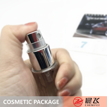 Hot sale & high quality 20/410 whole cover perfume sprayer mist silver aluminum with machine arms