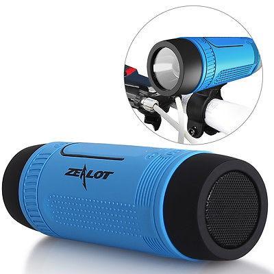 Wireless Bluetooth Speaker With LED light POWER BANK ZEALOT S1