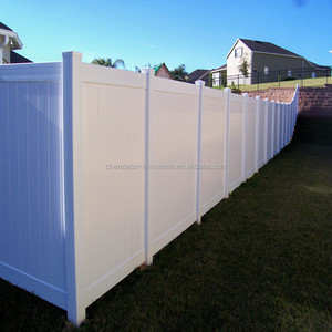 6ft x 8ft 100% pure virgin vinyl white PVC privacy fence