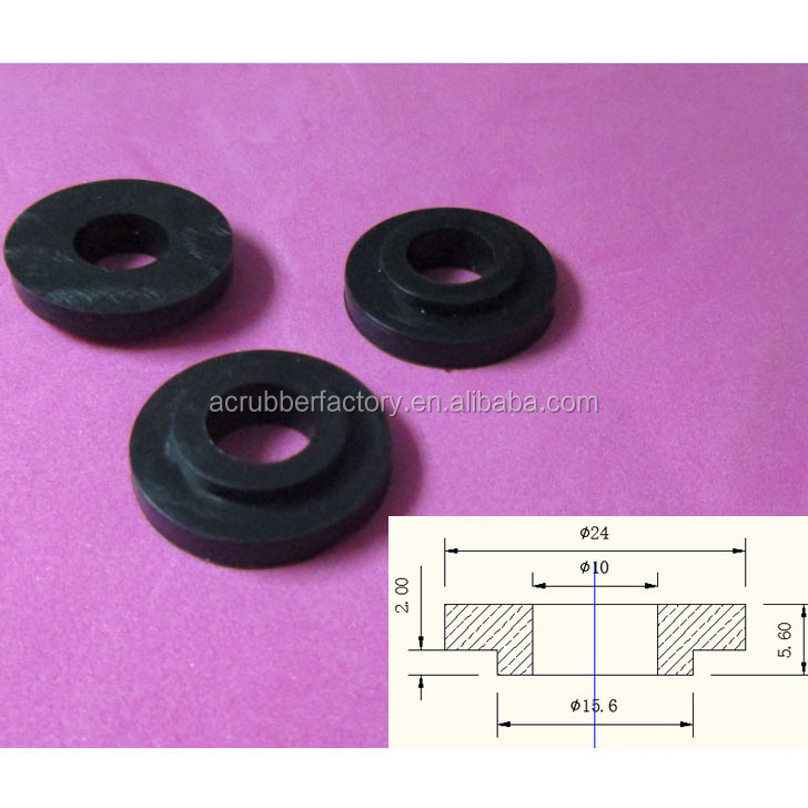 Rubber Washers Thick Rubber Flange Washer Big Rubber Washer - Buy ...