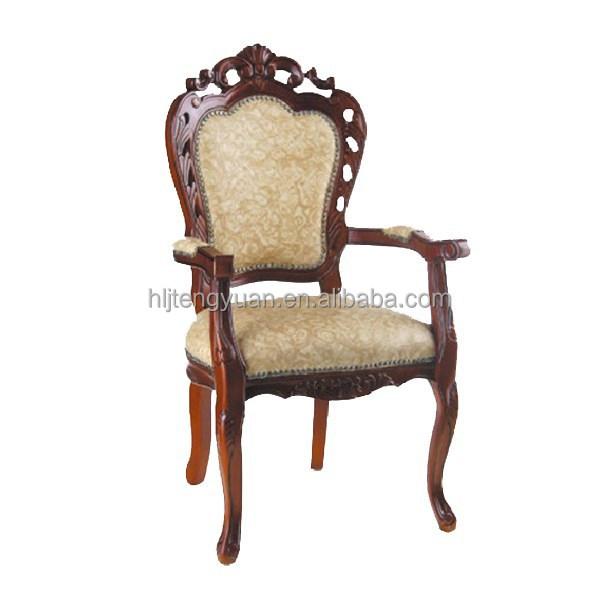 Barok massief gesneden houten eetkamerstoel houten stoelen product id 60302692424 - Dining barokke ...