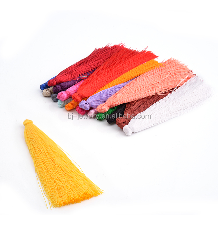 Fashion Hot Sell Colorful Silk Tassel Accessory