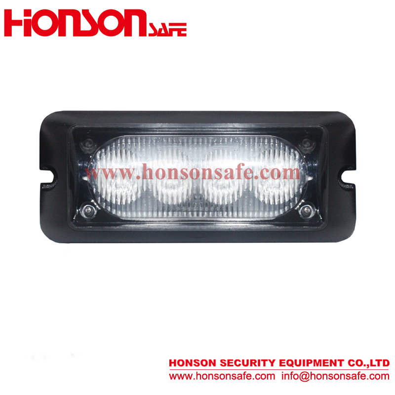 ECE R65 certification 4led grille strobe warning light led flashing amber or purple lighthead HF-109