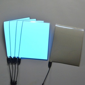 ultra bright el light panel multi color paper thin el backlight for decoration