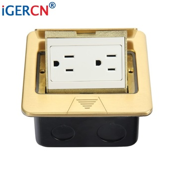 Pop Up Floor Mounted Outlet Hgd 2f Cc6