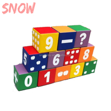 SNOWPLAY Nieuwe stijl China Fabrikant Kinderen Indoor Soft Play <span class=keywords><strong>Digitale</strong></span> bouwstenen
