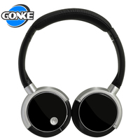 Sample free stereo sound wireless headset metal sport wireless bluetooths headphone
