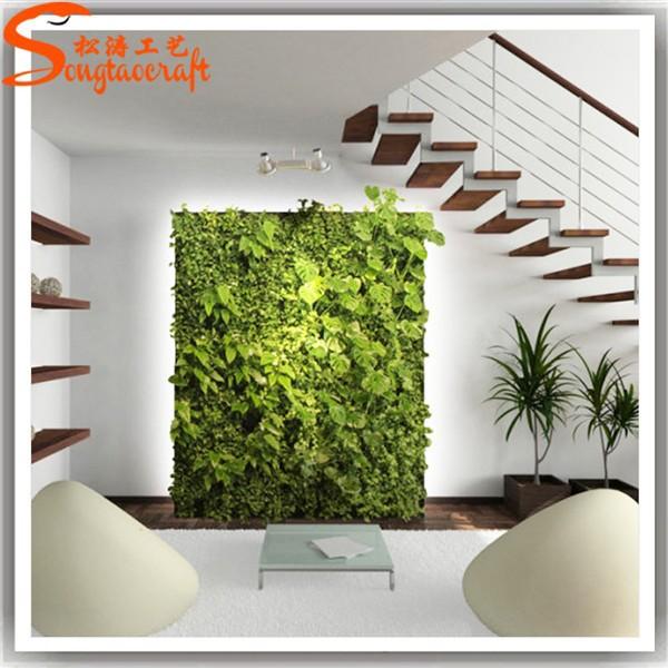artificiale piante muro appendiabiti a muro per fiore pianta erba verticale p...