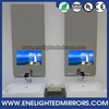 Ultra-luxury recessed wall mount interlligent mirror tv with dynamic virtual dressing function