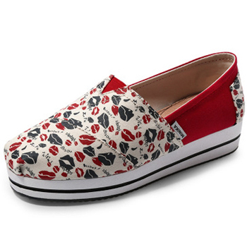 Most fashion girls vulcanized canvas shoes