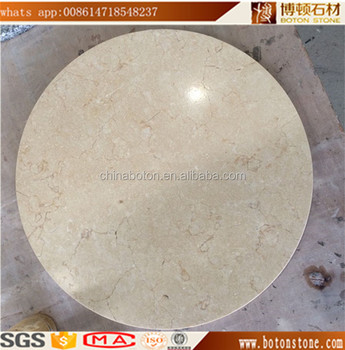 Round Marble Stone Coffee Inlay Table Top