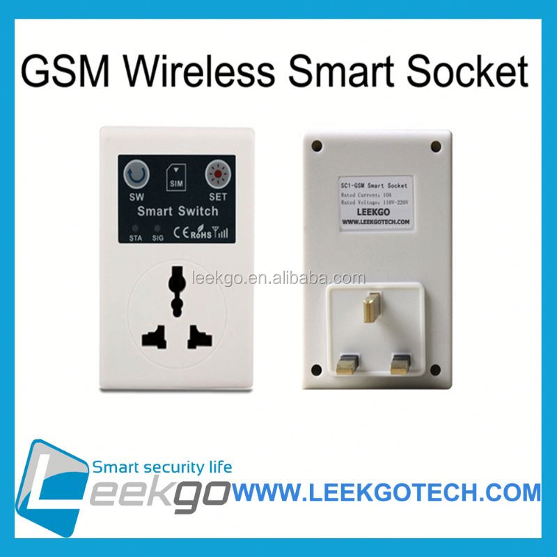 LEEKGO Factory Direct Selling prcd gfci gsm power socket