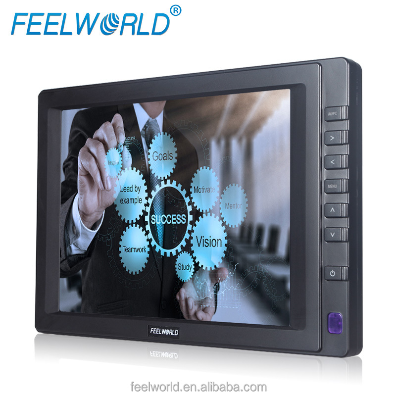 Feelworld 7 inch IPS panel lcd touch screen monitor VGA .AV1,AV2,HDMI input