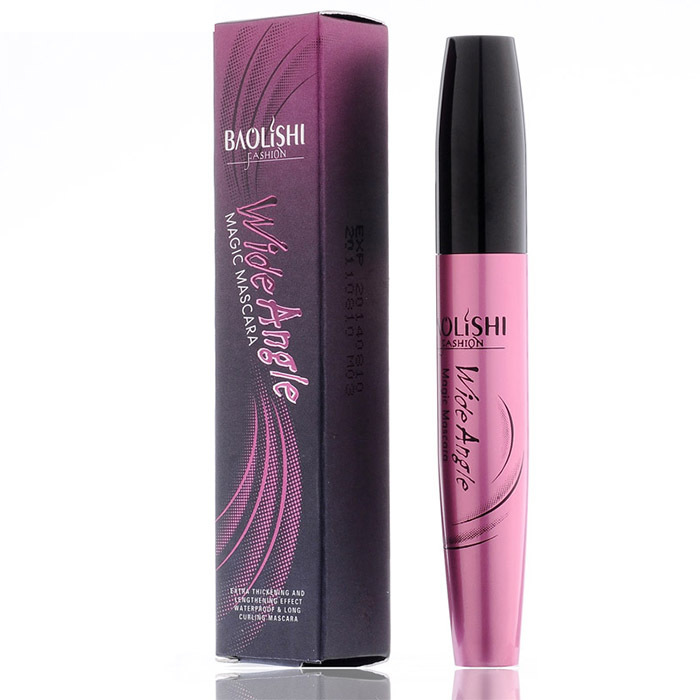 23bf6d7a73d Get Quotations · Free shipping Baolishi 2PCS/lot mascara lengthening thick curly  waterproof black mascara foundation for your