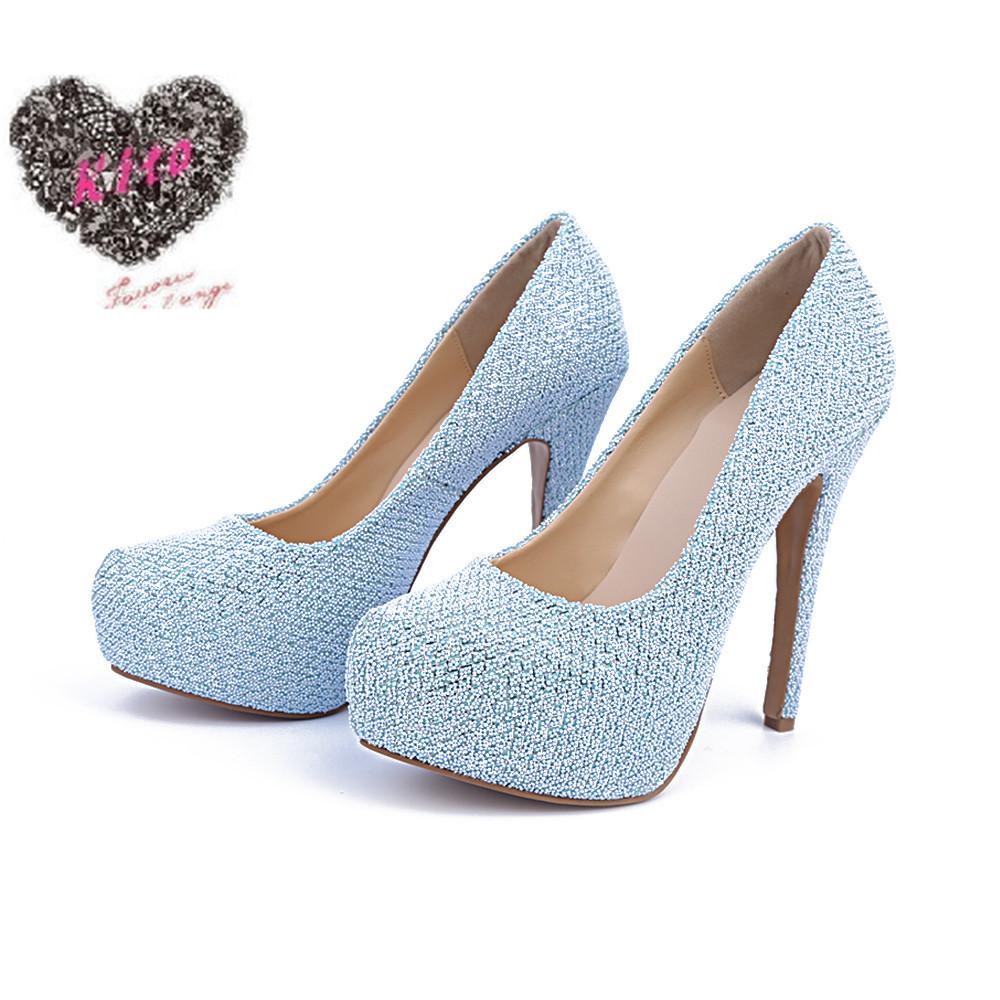 high heels sandals light blue - photo #43