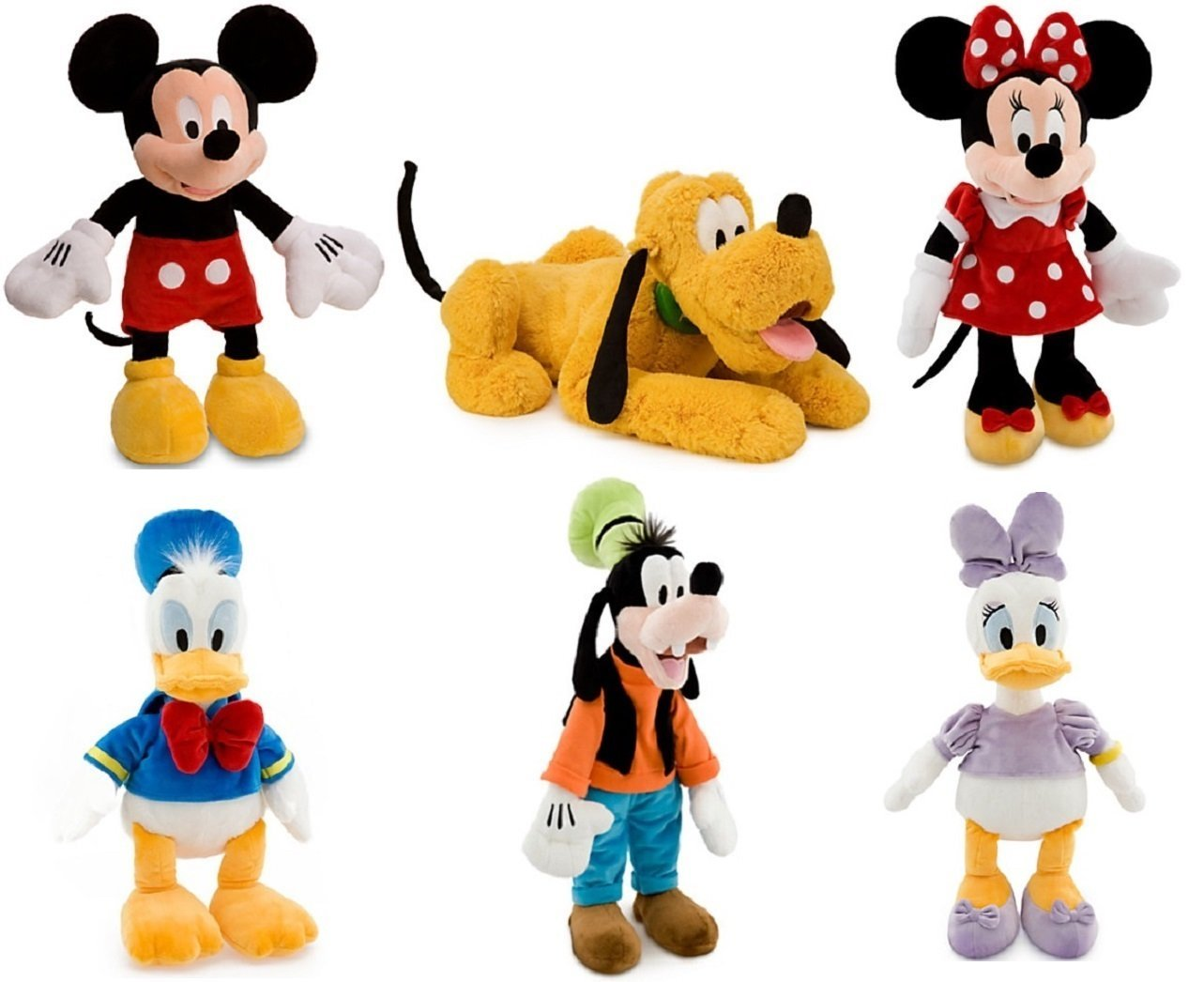 Cheap Plush Goofy Find Deals On Line At Alibabacom Luggage Tag Mickey Head Get Quotations Disney Mouse Clubhouse Deluxe Set Of 6 Large Toys 15 20