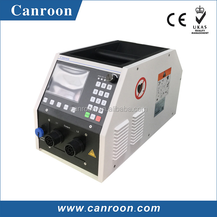 Canroon 5kVA small but high performance used in oil transportation pipeline induction heating power source for heat treatment