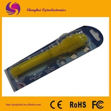 Yellow Cheap Price UV Invisible Pen For France Market With led light