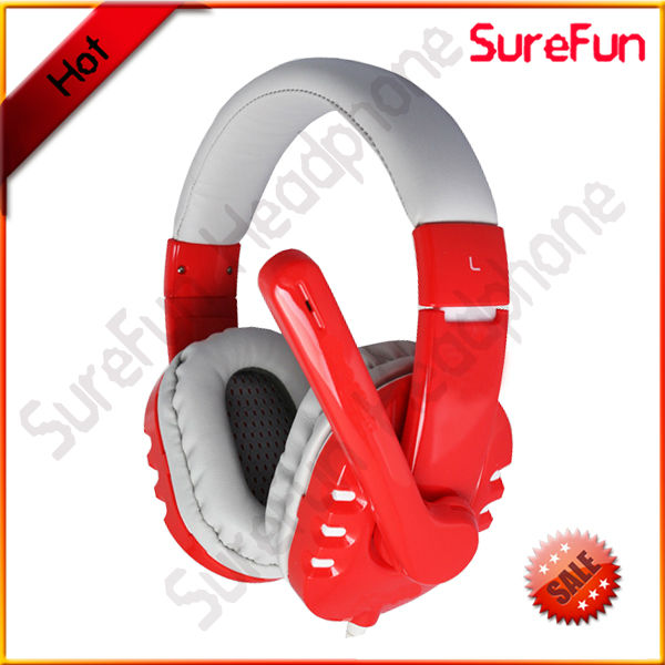 Wired Communication and Microphone Function headphone