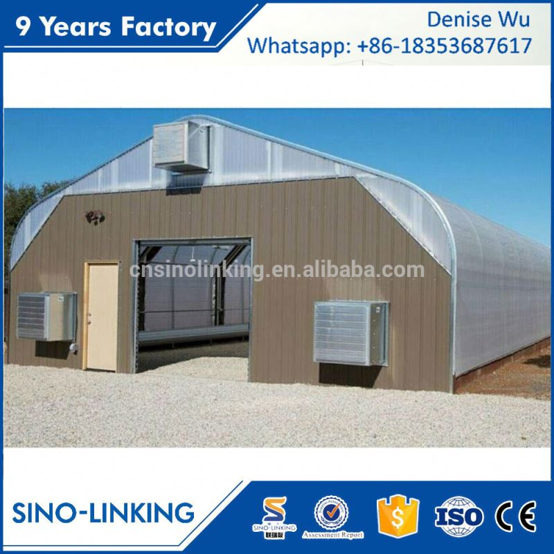 SINOLINKING Best Price plastic film mushroom farm greenhouse Agricultural Production