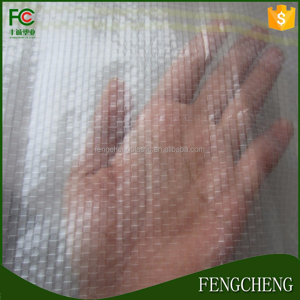heavy duty woven uv stable pe greenhouse plastic sheet protect film