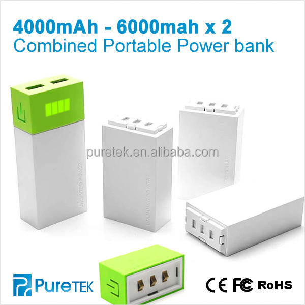 Mobile Phone Charging Units Is 10400mah Mobile Power Bank/Mobile Power Supply for Iphone And Samsung