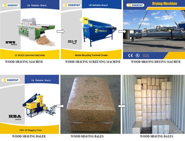 CE onaylı makine yapımı Ticari Yeni Tasarım verimli çam talaşı