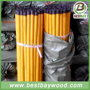 Plastic broom stick wooden factory in China