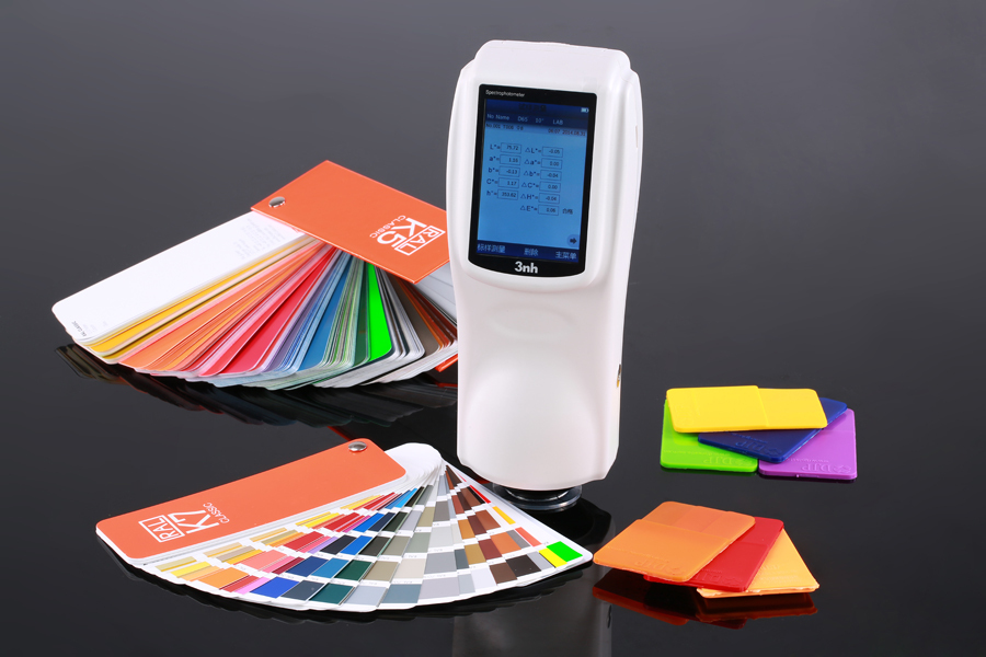 Portable Digital CIE Lab plastic particles colour analysis spectrometer chroma meter