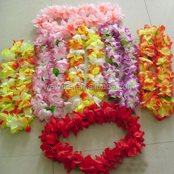 garland lei flower for sale hawaiian alibaba leis customized hawaii buy product on necklace artificial detail fabric