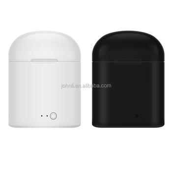 31d4e79aecf HBQ I7 I7S TWS gemelos auricular inalámbrico con cargador caso Mini Auriculares  auriculares con micrófono para