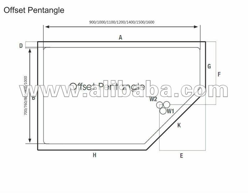Piatti doccia piatti doccia id prodotto 135204172 - Piatto doccia triangolare ...