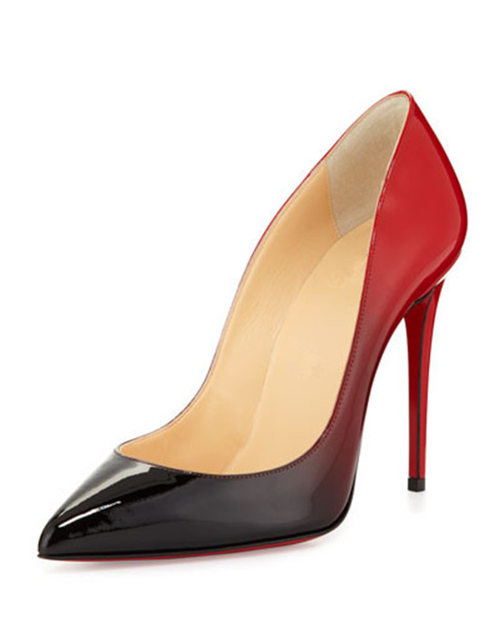 3c426bb5eb4 Get Quotations · Newest Sexy Women Pumps Shoes Woman 2015 So Kate Color  Degrade Pumps Red Black Nude