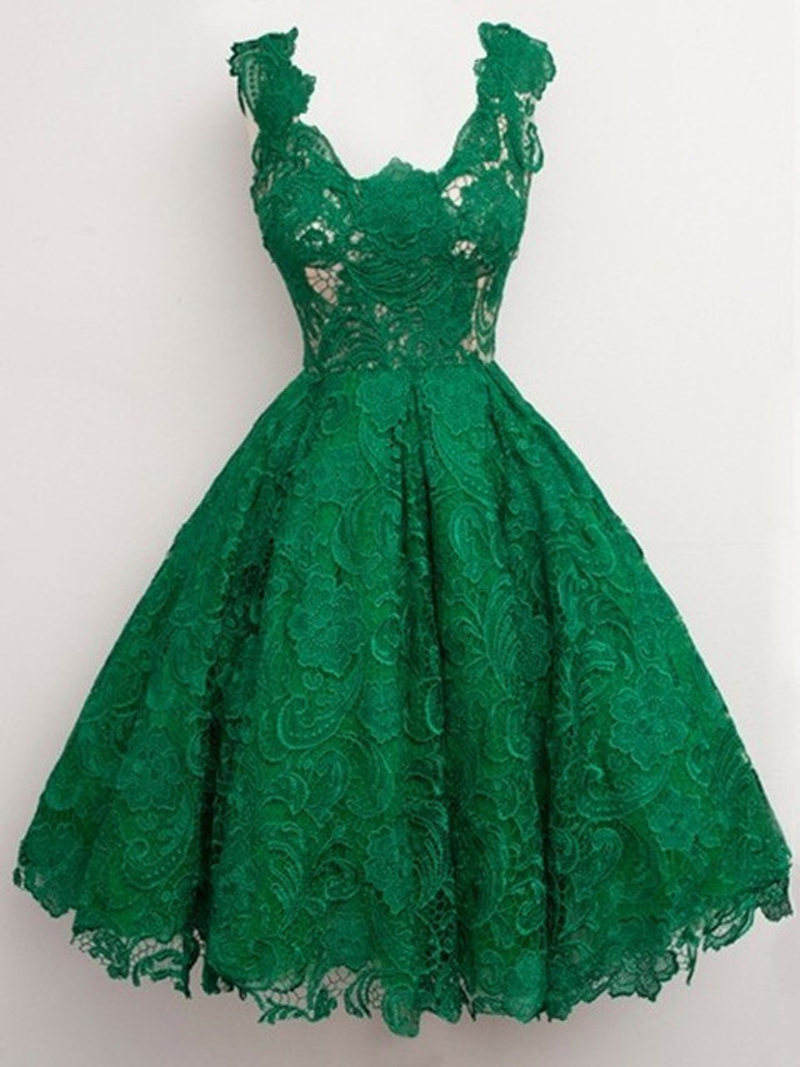 Popular Emerald Green Cocktail Dresses-Buy Cheap Emerald ...
