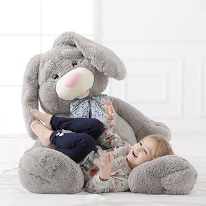 Wholesale easter bunny cute plush stuffed large rabbit plush toys