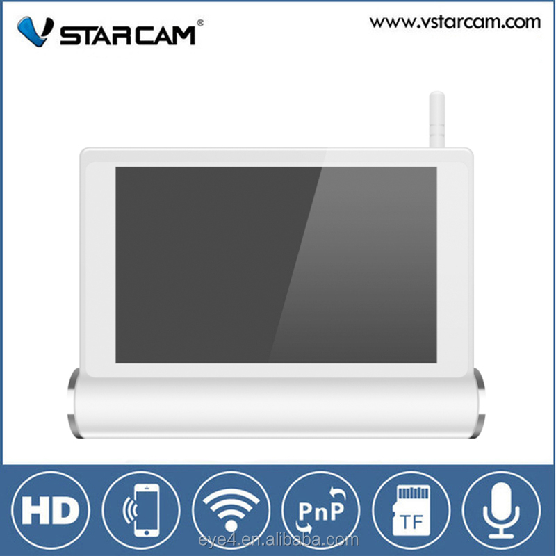 Vstarcam NVS-K200 home HD touch screen pic/music/video player 4ch wifi nvr system